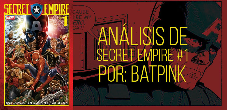 Análisis Secret Empire 1
