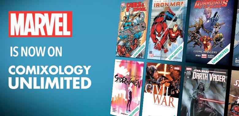 Marvel se une al servicio Comixology