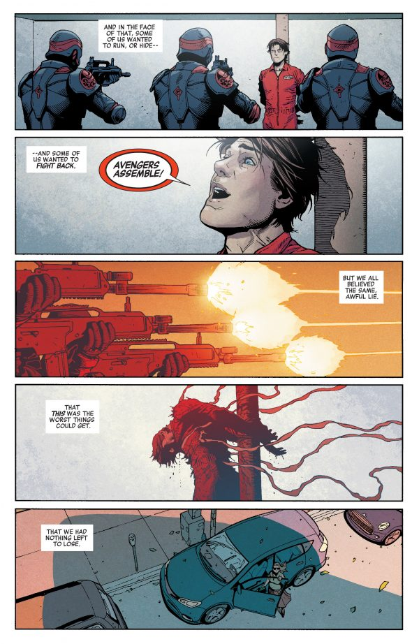 Análisis de Secret Empire #1