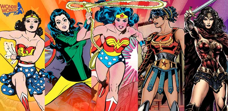 7 comics de Wonder Woman
