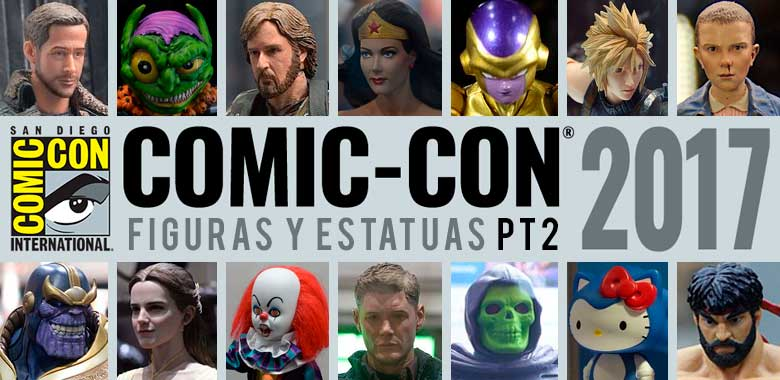 Las figuras y estatuas San Diego comiccon 2017