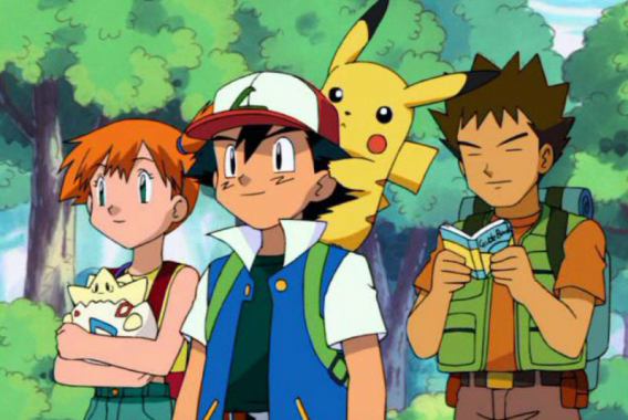 El encuentro de Brock y Misty con Ash