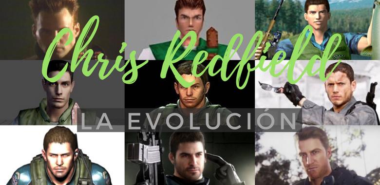 Chris Redfield como cambia