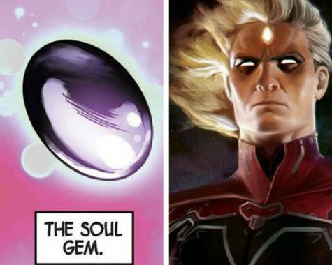 las gemas del guante del infinito en los filmes de Marvel