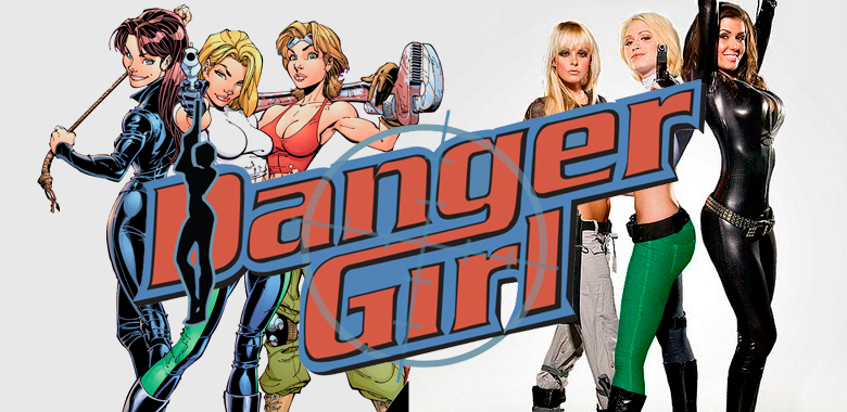 danger girl la película y serie de tv