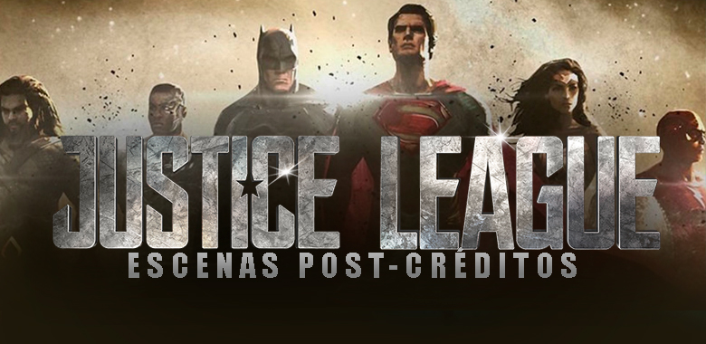 justice league escenas post-créditos