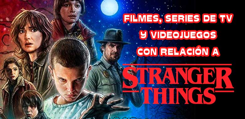 la serie stranger things