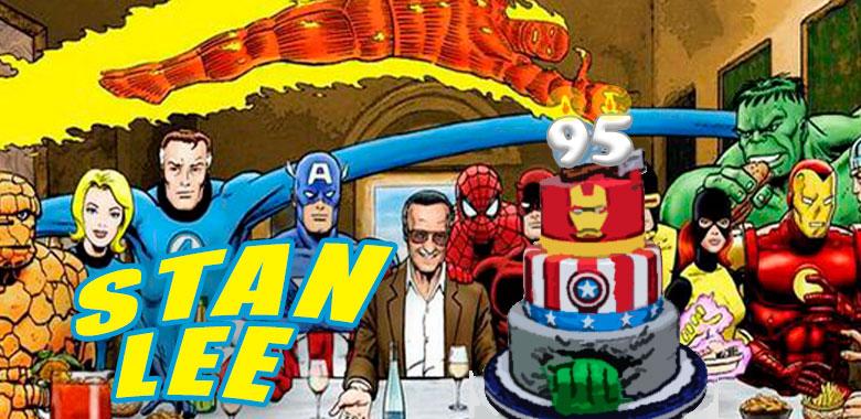 Stan Lee cumple 95 años