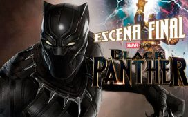 Se filtra la escena final de Black Panther