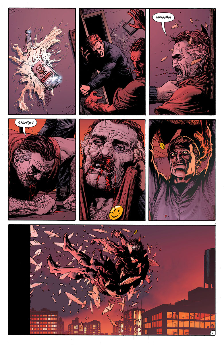 Watchmen Doomsday Clock parte 3