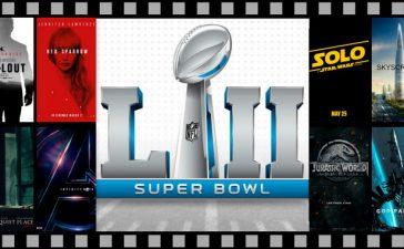 Todos los Trailers de películas del Super Bowl 2018