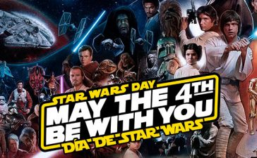 dia de star wars may the 4 be with you
