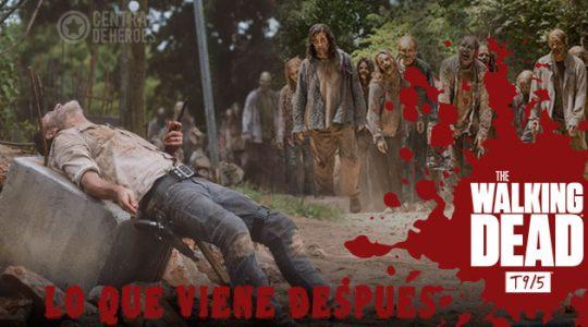 The walking dead temporada 9 episodio 5, What comes after, lo que viene después.