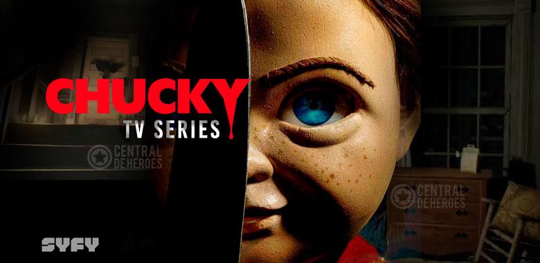 chucky series, la serie de Chucky proximamente por SYFY.