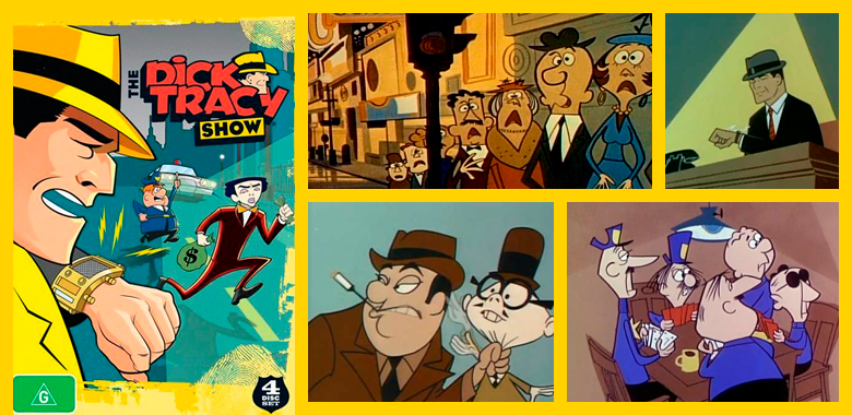 Dick tracy show, la serie de tv cartoon cumple 58 años