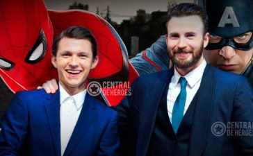 Spiderman Tom Holland y Cap America Chris Evans en un filme de terror