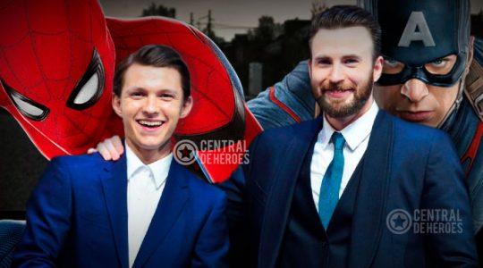 Spiderman Tom Holland y Cap America Chris Evans en un filme de terror