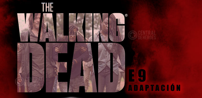 the walking dead temporada 9 adaptacion