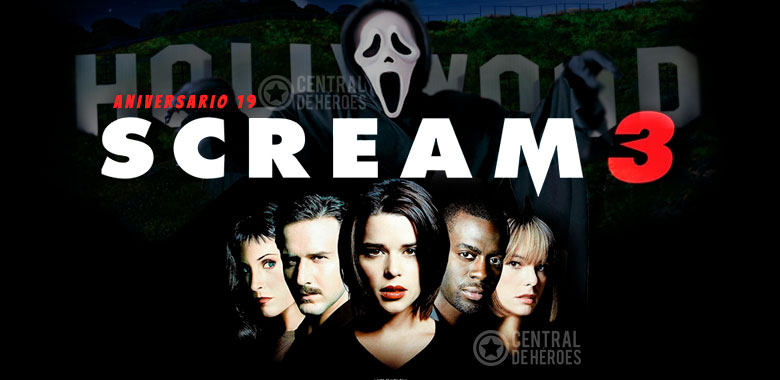 scream 3, aniversario 19