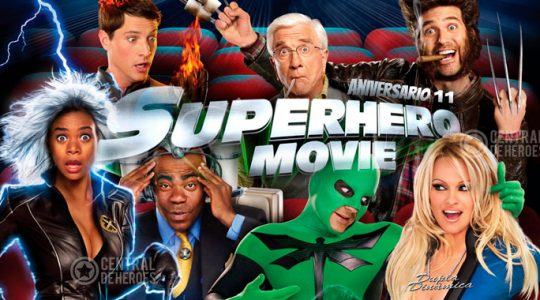 Superhero movie aniversario 11