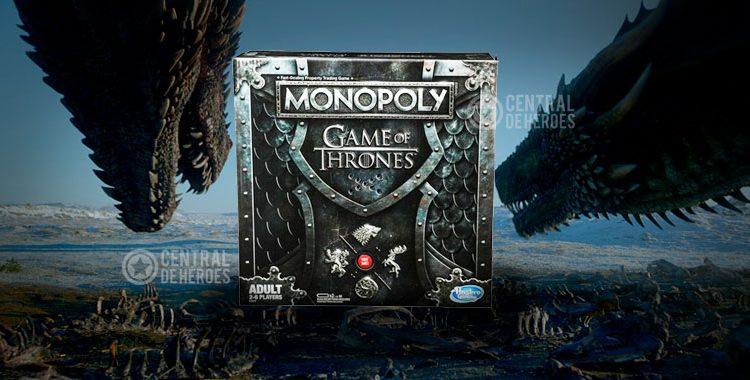 juego de tronos, presenta su monopoly