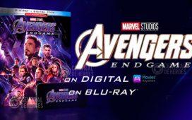 Avengers Endgame digital y Blu-Ray