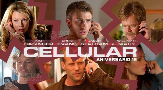 cellular, celular. aniversario 15