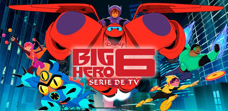 big hero 6 grandes h roes serie de tv central de heroes. Black Bedroom Furniture Sets. Home Design Ideas