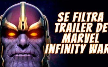 filtra trailer de infinity war