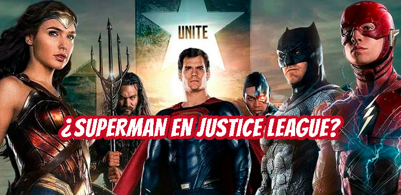 Superman en el filme de Justice League