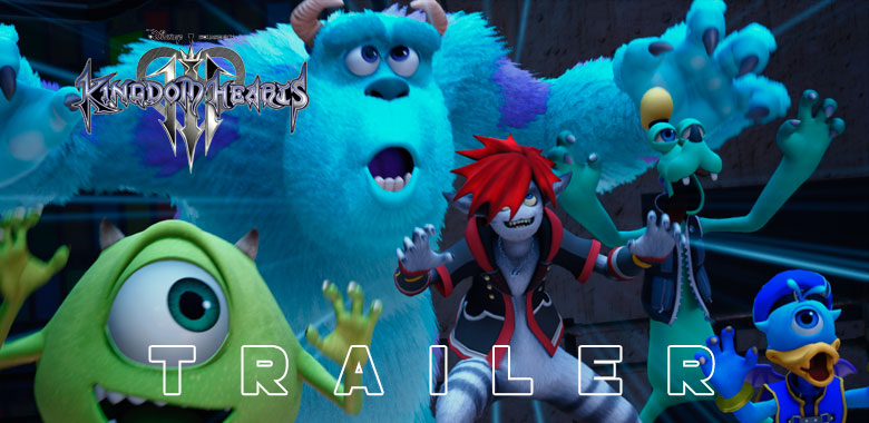 Monsters inc trailer Kingdom Hearts 3
