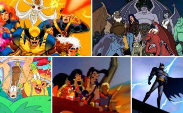 caricaturas de los 90
