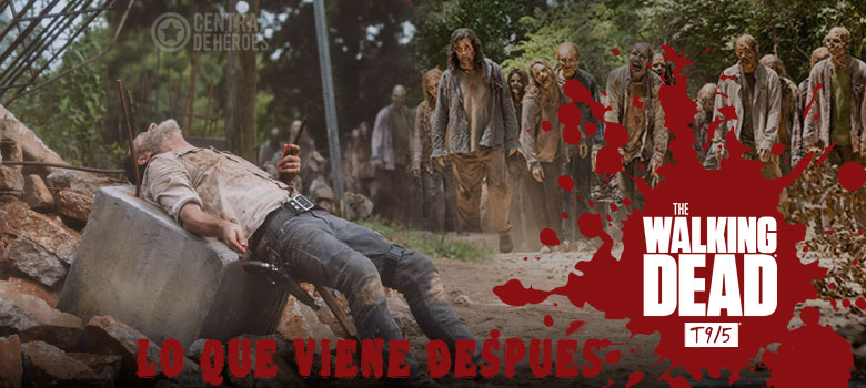 The walking dead temporada 9 episodio 5, What comes after, lo que viene después.