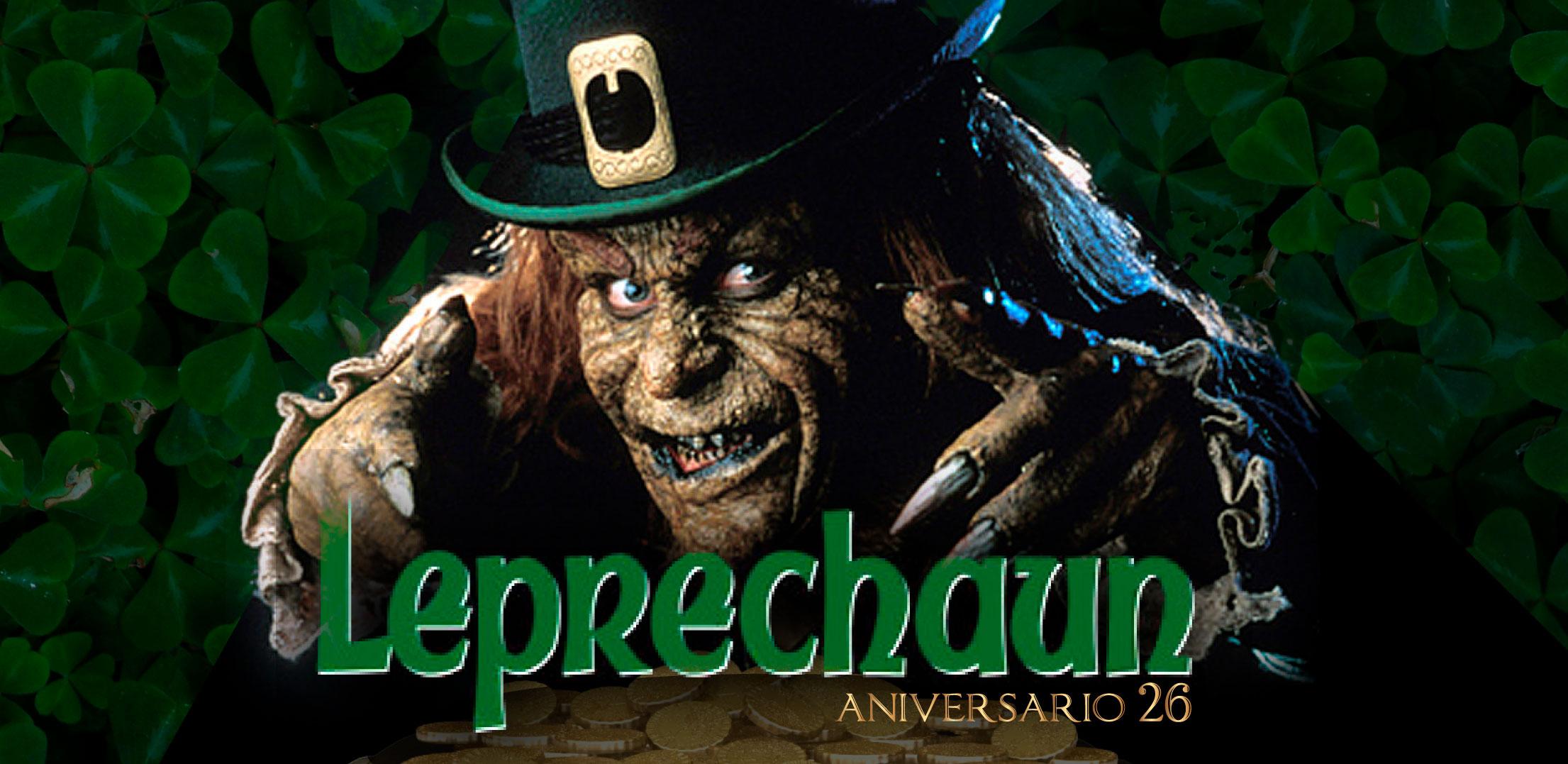 Aniversario 26 de la película: El duende, Leprechaun.
