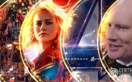 kevin feige en los golden globes, acerca de Endgame y Capitán Marvel.