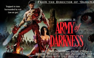 Army of darkness, evil dead 3, aniversario 26