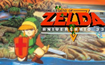 The legend of Zelda Nes aniversario 33