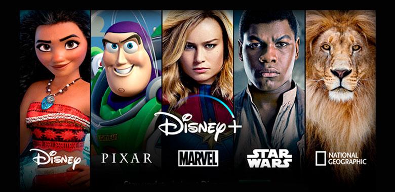 Disney plus programación